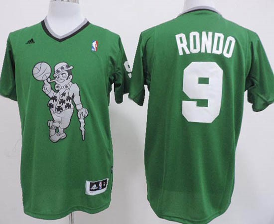 Choisir Maillot NBA Boston Celtics 2013 Noël NO.9 Rondo Veder