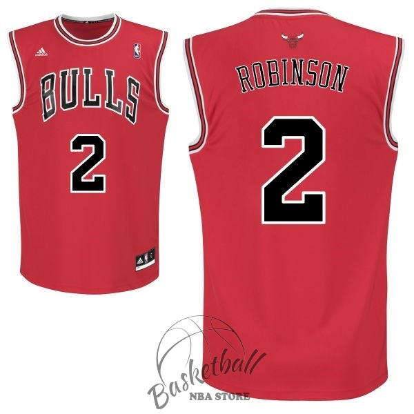 Choisir Maillot NBA Chicago Bulls NO.2 Nate Robinson Rouge