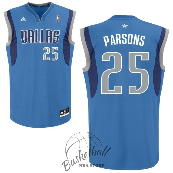 Choisir Maillot NBA Dallas Mavericks NO.25 Chandler Parsons Bleu