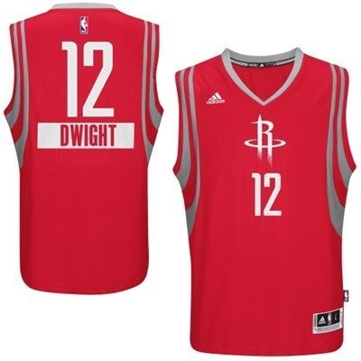 Choisir Maillot NBA Houston Rockets 2014 Noël NO.12 Dwight Rouge