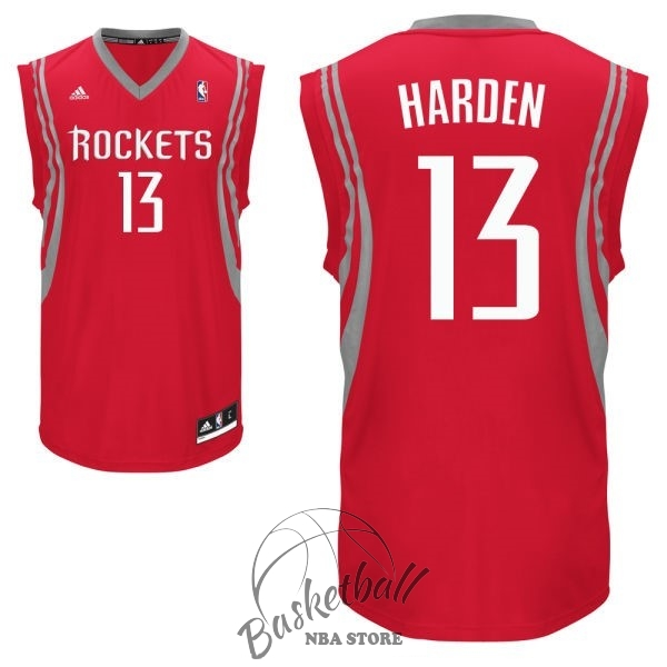 Choisir Maillot NBA Houston Rockets NO.13 James Harden Rouge