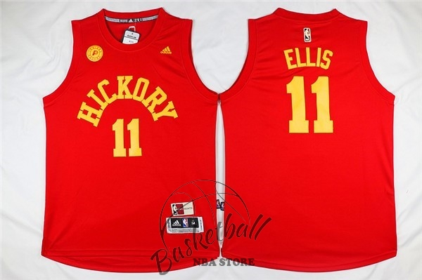 Choisir Maillot NBA Indiana Pacers NO.11 Monta Ellis Rouge