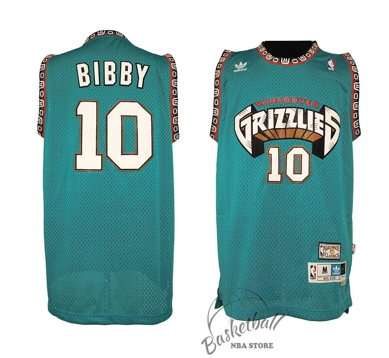 Choisir Maillot NBA Memphis Grizzlies NO.10 Mike Bibby Vert
