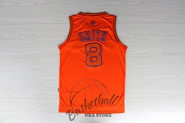 Choisir Maillot NBA New York Knicks NO.8 JR.Smith Orange