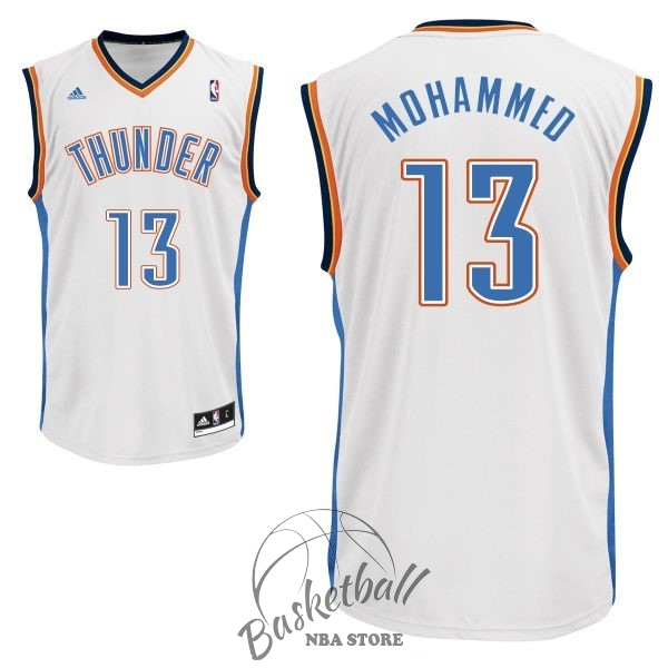 Choisir Maillot NBA Oklahoma City Thunder NO.13 James Harden Blanc