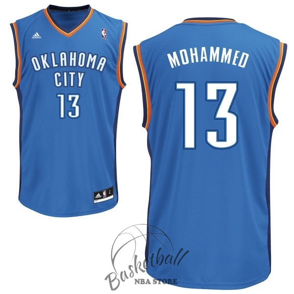 Choisir Maillot NBA Oklahoma City Thunder NO.13 James Harden Bleu
