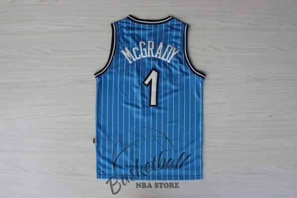 Choisir Maillot NBA Orlando Magic NO.1 Tracy McGrady Bleu