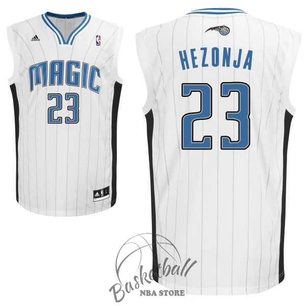 Choisir Maillot NBA Orlando Magic NO.23 Mario Hezonja Blanc