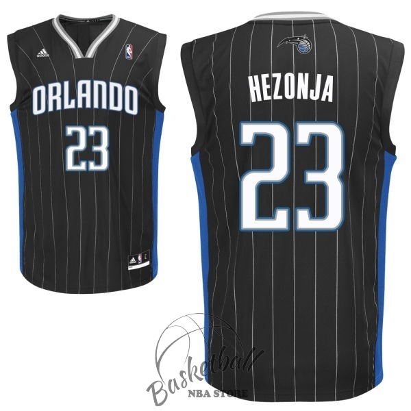 Choisir Maillot NBA Orlando Magic NO.23 Mario Hezonja Noir