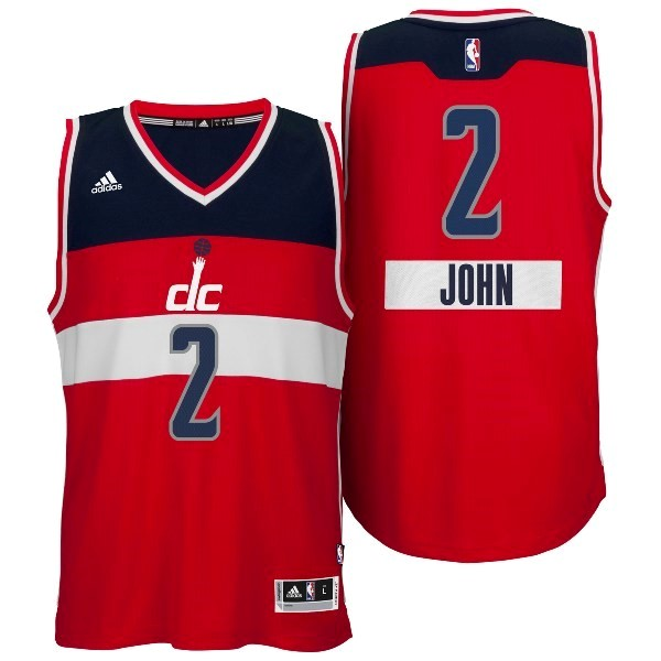 Choisir Maillot NBA Washington Wizards 2014 Noël NO.2 John Rouge