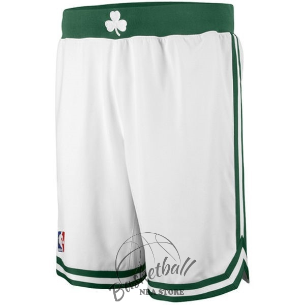 Choisir Short Basket Boston Celtics Blanc