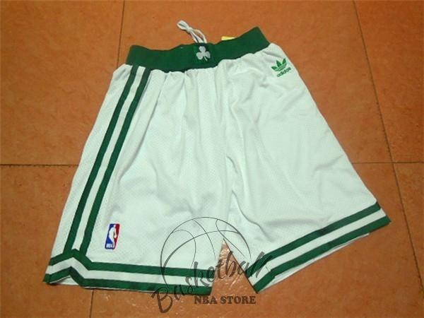 Choisir Short Basket Boston Celtics Retro Noir