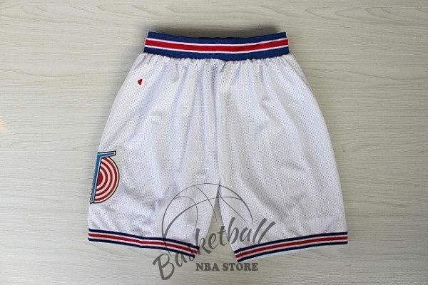 Choisir Short Basket Film Basket-Ball Tune Squad Blanc