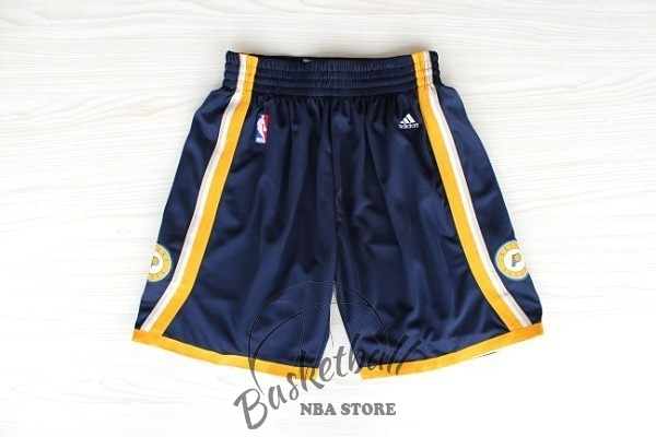 Choisir Short Basket Indiana Pacers Noir