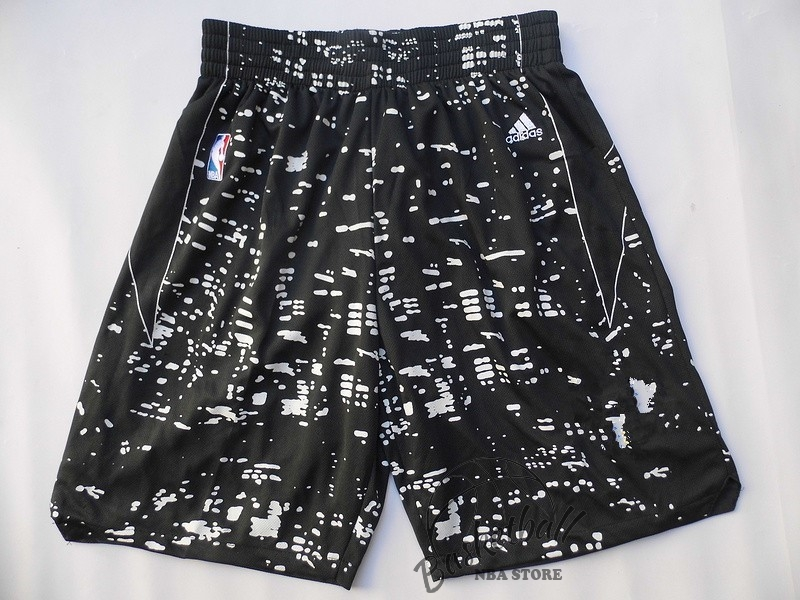 Choisir Short Basket Ville Lumières Golden State Warriors Noir